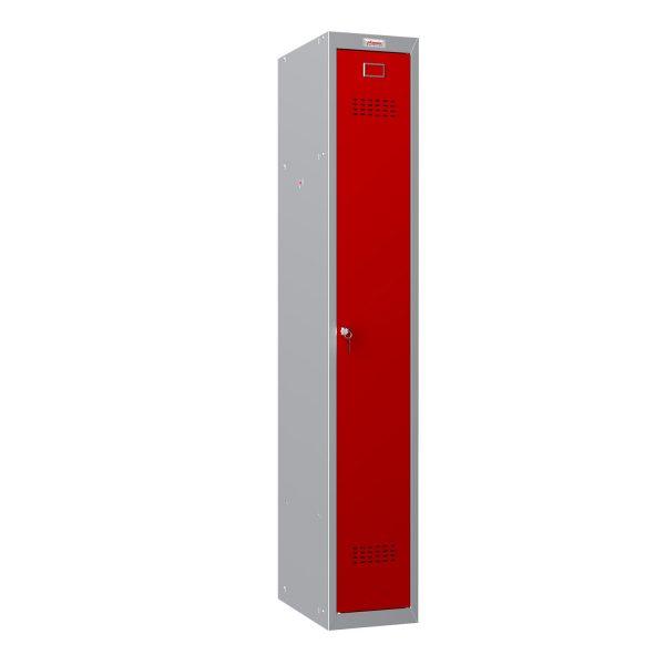 Phoenix CD Series CD1130/4GRK Single Door in Red with Key Lock