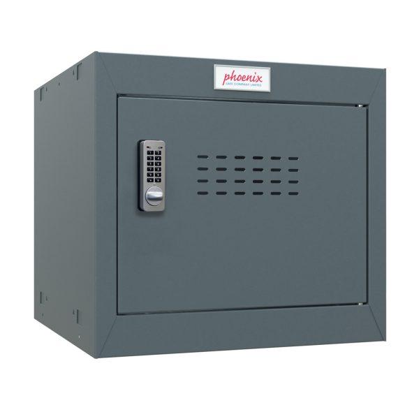 Phoenix CL0344AAE Size 1 Dark Grey Cube Locker with Electronic Lock