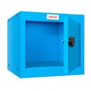 Phoenix CL0344BBC Size 1 Blue Cube Locker with Combination Lock 0