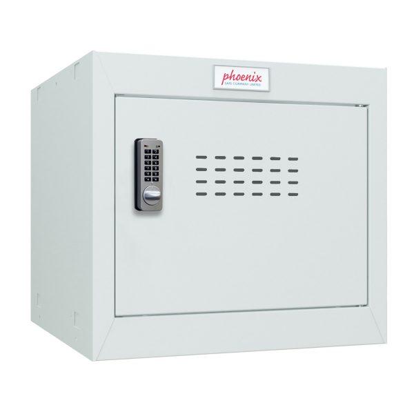 Phoenix CL0344GGE Size 1 Light Grey Cube Locker with Electronic Lock