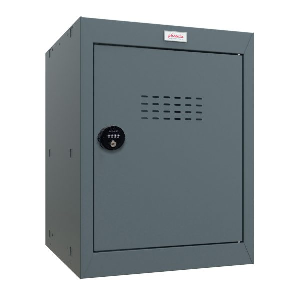 Phoenix CL0544AAC Size 2 Grey Cube Locker with Combination Lock