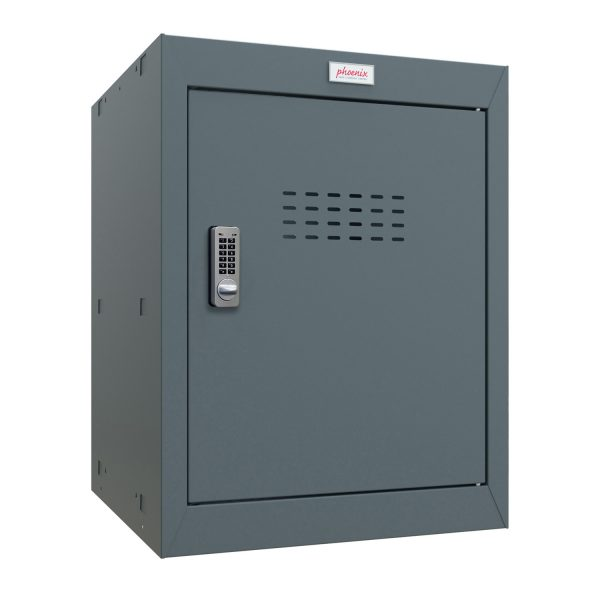 Phoenix CL0544AAE Size 2 Grey Cube Locker with Electronic Lock
