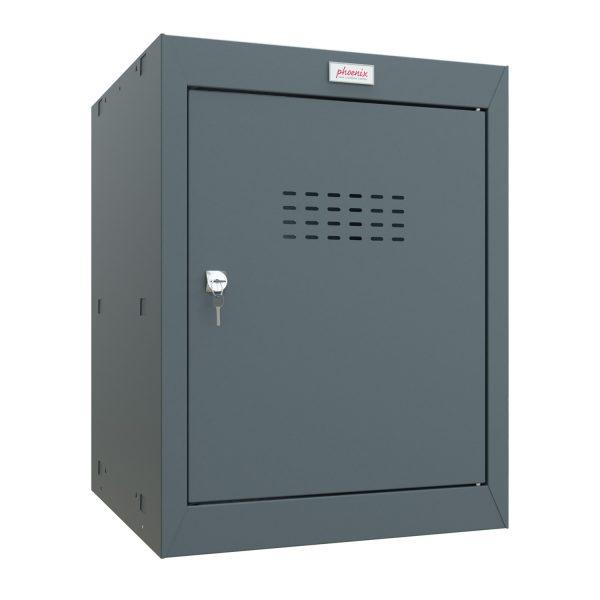 Phoenix CL0544AAK Size 2 Grey Cube Locker with Key Lock