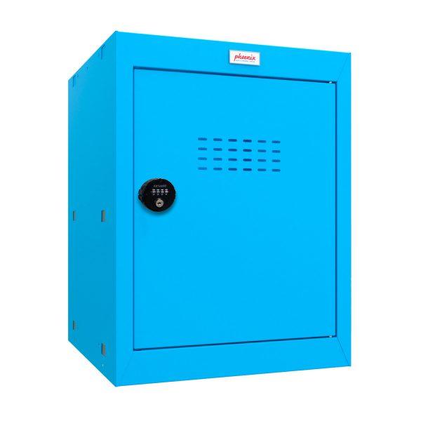 Phoenix CL0544BBC Size 2 Blue Cube Locker with Combination Lock