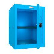 Phoenix CL0544BBC Size 2 Blue Cube Locker with Combination Lock 0