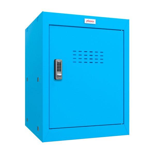 Phoenix CL0544BBE Size 2 Blue Cube Locker with Electronic Lock