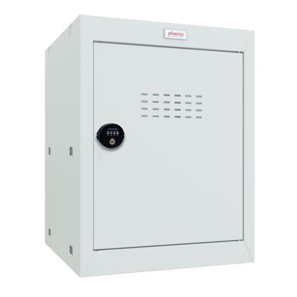 Phoenix CL0544GGC Size 2 Light Grey Cube Locker with Combination Lock