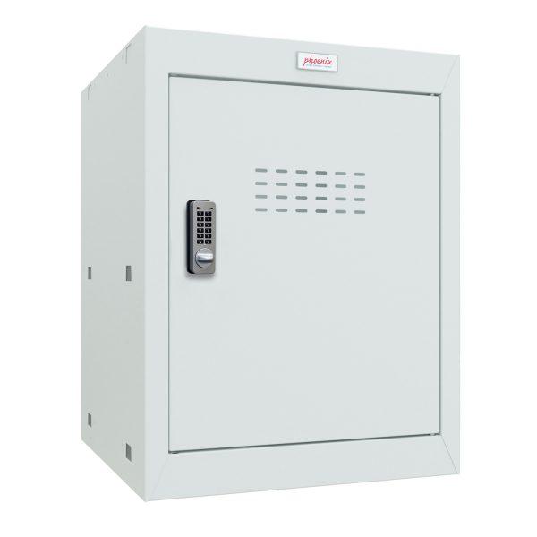 Phoenix CL0544GGE Size 2 Light Grey Cube Locker with Electronic Lock