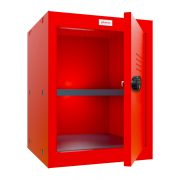 Phoenix CL0544RRC Size 2 Red Cube Locker with Combination Lock 0