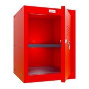 Phoenix CL0544RRK Size 2 Red Cube Locker with Key Lock 0