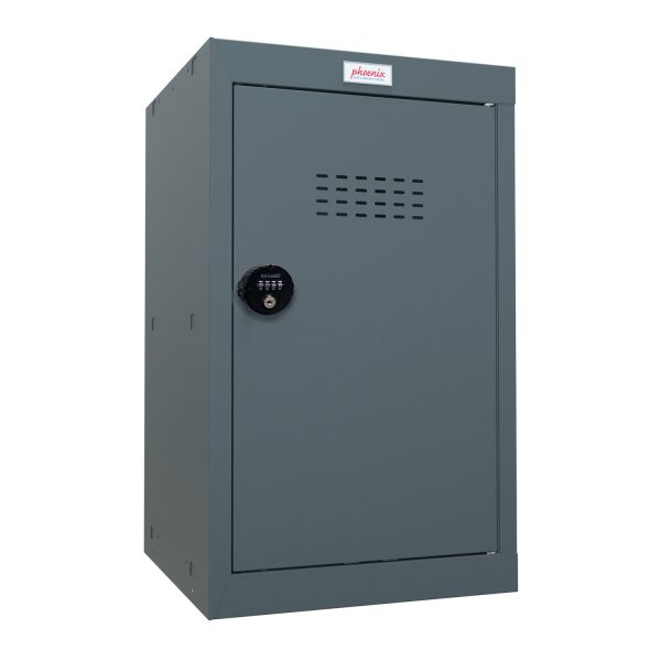 Phoenix CL0644AAC Size 3 Grey Cube Locker with Combination Lock