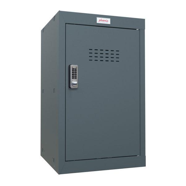 Phoenix CL0644AAE Size 3 Grey Cube Locker with Electronic Lock