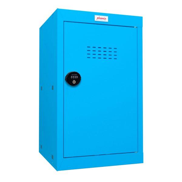Phoenix CL0644BBC Size 3 Blue Cube Locker with Combination Lock