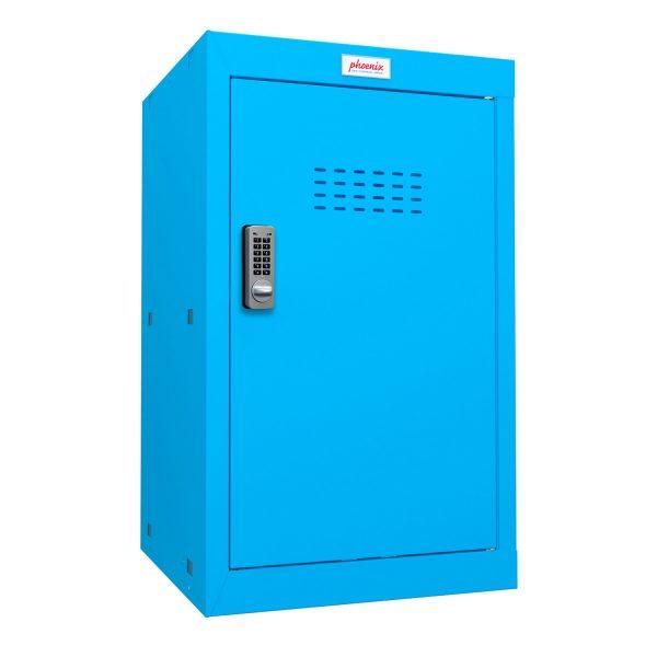 Phoenix CL0644BBE Size 3 Blue Cube Locker with Electronic Lock