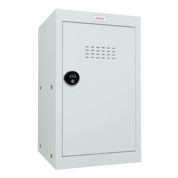 Phoenix CL0644GGC Size 3 Light Grey Cube Locker with Combination Lock