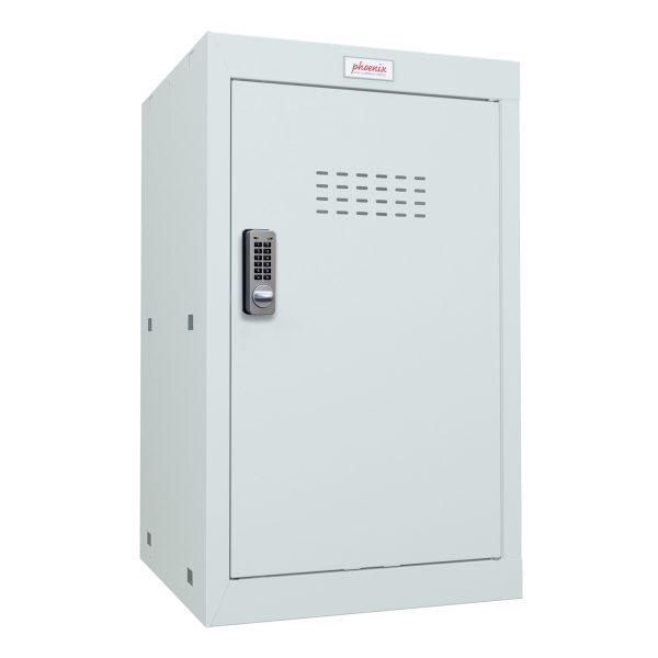 Phoenix CL0644GGE Size 3 Light Grey Cube Locker with Electronic Lock