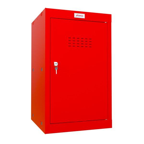 Phoenix CL0644RRK Size 3 Red Cube Locker with Key Lock