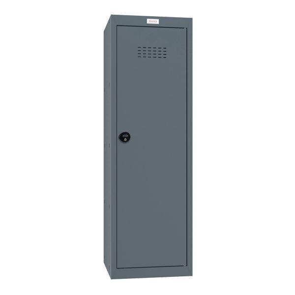 Phoenix CL1244AAC Size 4 Grey Cube Locker with Combination Lock