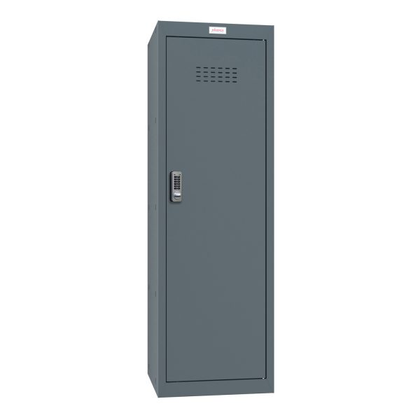 Phoenix CL1244AAE Size 4 Grey Cube Locker with Electronic Lock