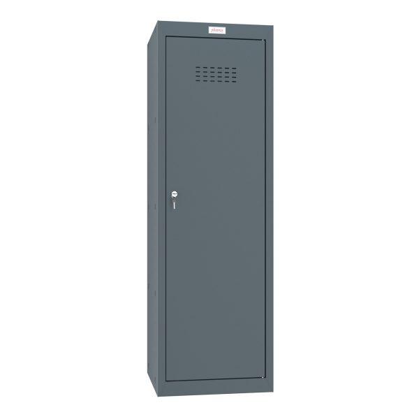 Phoenix CL1244AAK Size 4 Grey Cube Locker with Key Lock