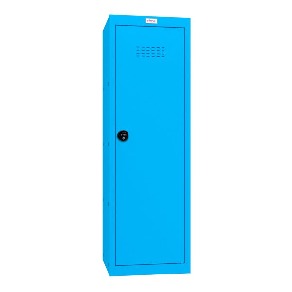 Phoenix CL1244BBC Size 4 Blue Cube Locker with Combination Lock