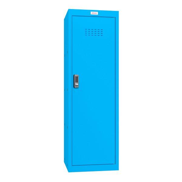 Phoenix CL1244BBE Size 4 Blue Cube Locker with Electronic Lock