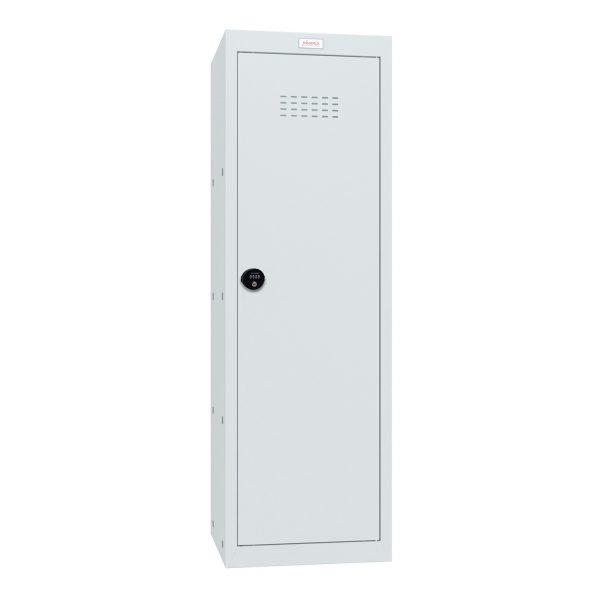 Phoenix CL1244GGC Size 4 Light Grey Cube Locker with Combination Lock