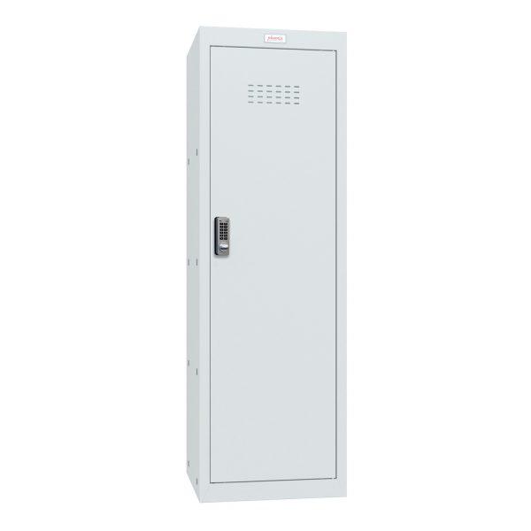 Phoenix CL1244GGE Size 4 Light Grey Cube Locker with Electronic Lock