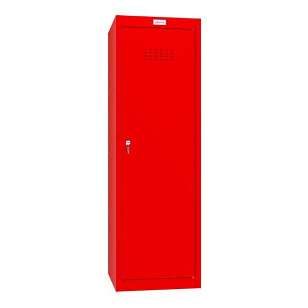 Phoenix CL1244RRK Size 4 Red Cube Locker with Key Lock